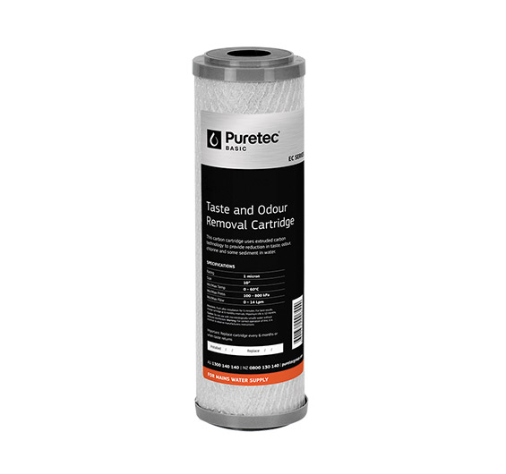 EC951 1 - Extruded Carbon Cartridge - EC Series - For Mains Water Supply