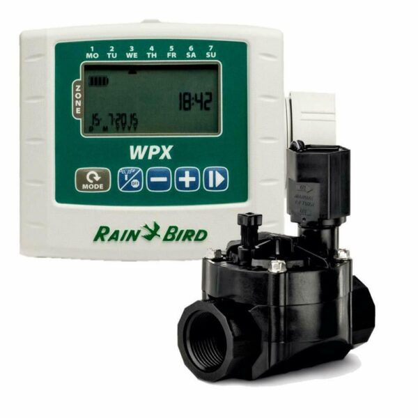 WPX 1 Station DVF Kit 600x600 - RainBird WPX Battery-Operated Controllers