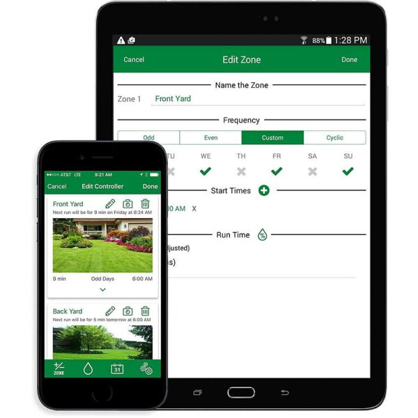 lnk app iphone ipad 600x600 - RainBird LNK WiFi Module