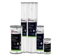 pleated cartridge pl - Pleated Sediment Cartridge - PP Series - For Rainwater Supply